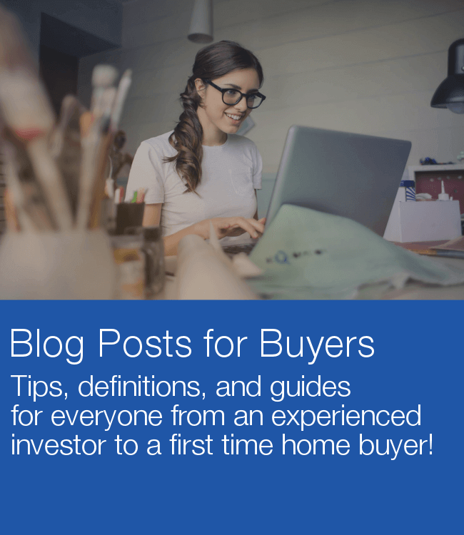 buy real estate blog